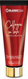 Kosmetyki Supertan Collagen in love accelerator tuba