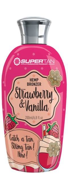 Kosmetyki Supertan strawberry vanilla bronzer tuba